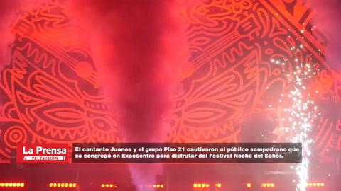 Juanes y Piso 21 brillaron en el Festival Noche del Sabor