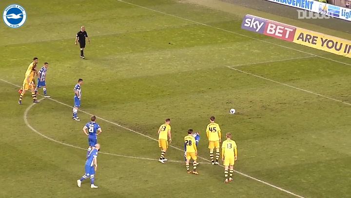 Tomer Hemed's hat-trick vs Fulham
