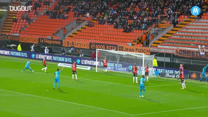 El primer gol de Balerdi con el Marsella
