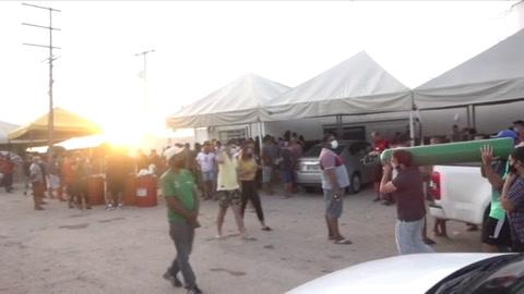 Búsqueda desesperada de oxígeno en Manaos para salvar a pacientes en casa