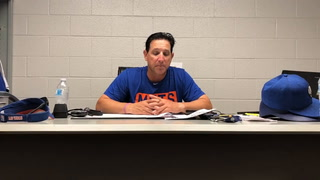 Tony DeFrancesco talks about the win over Albuquerque