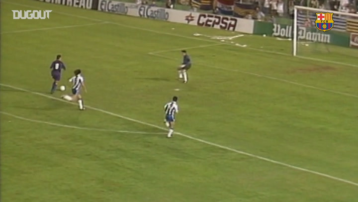 Debut Goals: Hristo Stoichkov Vs Espanyol