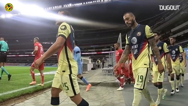 Behind the scenes of América's draw vs Toluca