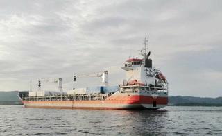 Atracó en Puerto Cortés barco que trae dos hospitales móviles para pacientes con COVID-19 en Honduras