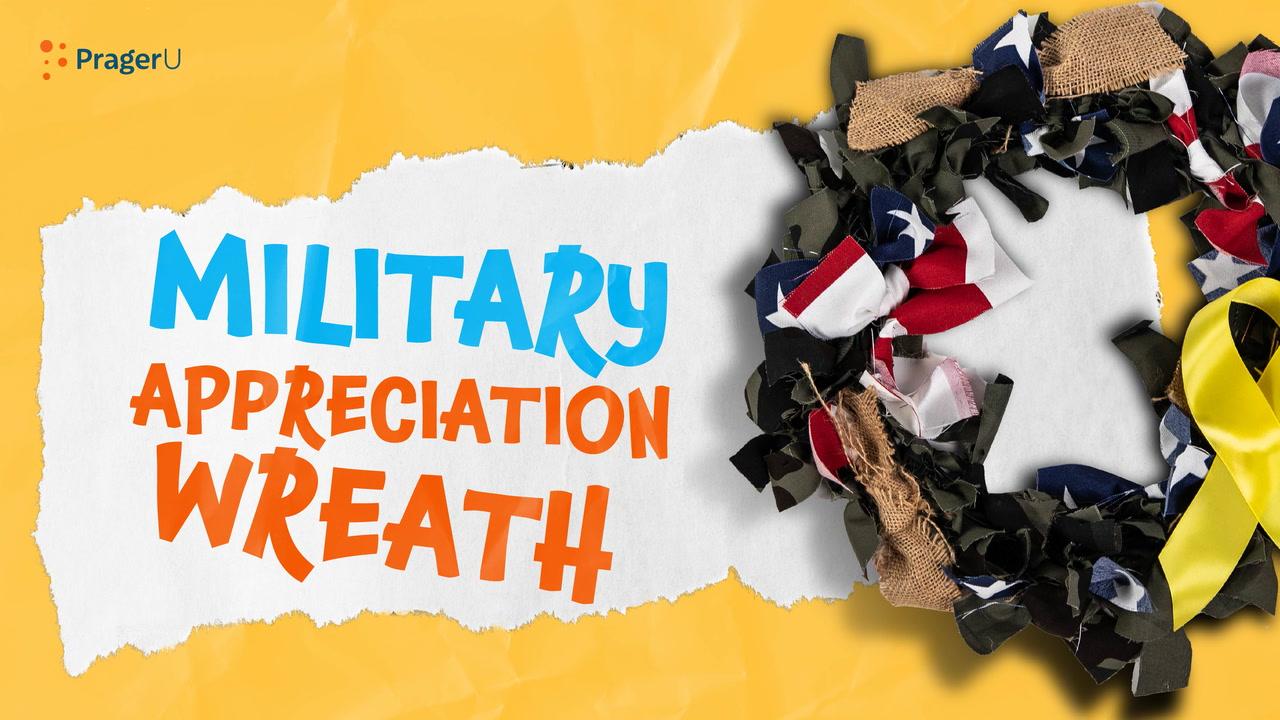 Craftory: Military Appreciation Wreath