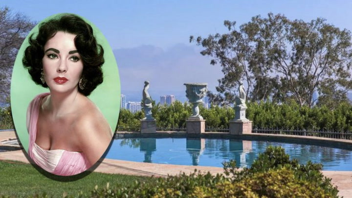 Elizabeth Taylor's Gorgeous Former Estate Gets a Price Cut of Millions