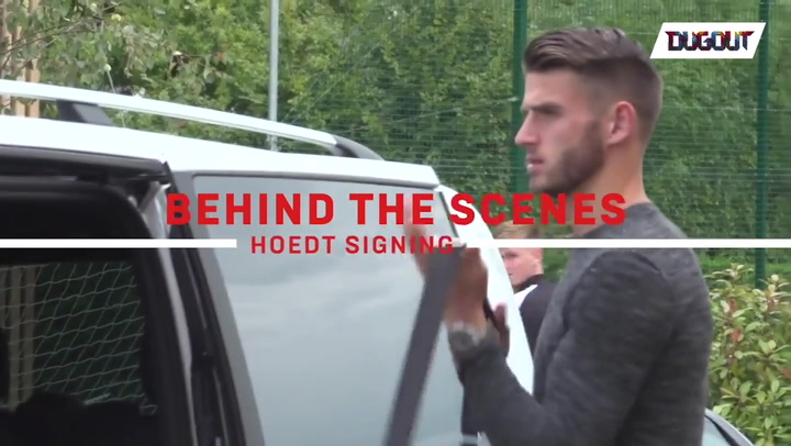 Hoedt's arrival at Saints