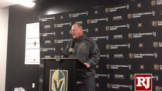 Golden Knights coach talks Mark Stone trade