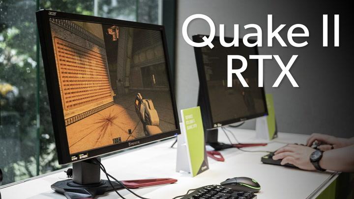 We ran Quake II RTX on a GeForce RTX 2080 Ti card, and here's how
