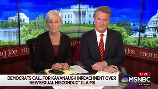 Scarborough Slams NYT -- 'Glaring Omission' in Kavanaugh Story