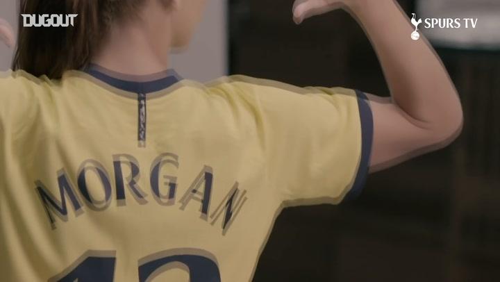 Alex Morgan at Tottenham Hotspur