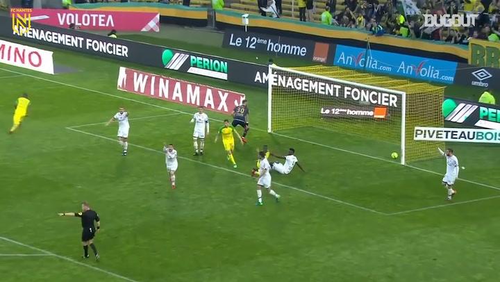 Préjuce Nakoulma's last goal with Nantes