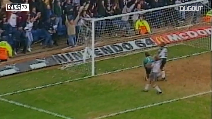Derby County blow Spurs away in 1997