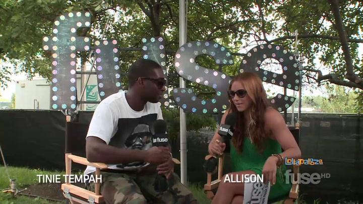 "Festivals:Lollapalooza: Tinie Tempah Describes His ""Wonderman"" Evolution  - Lollapalooza 2011"
