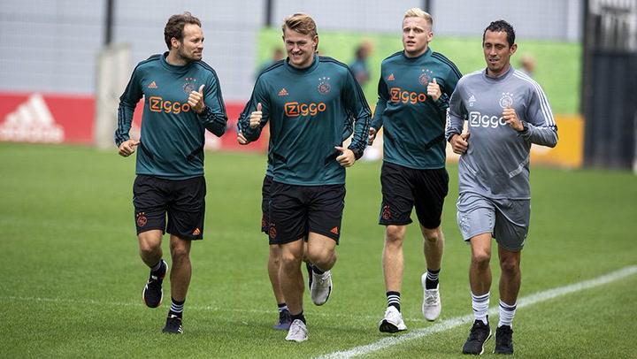 De Ligt comienza la pretemporada con el Ajax