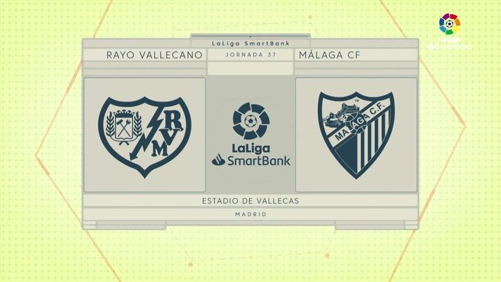 LaLiga Smartbank (Jornada 37): Rayo Vallecano 0-0 Málaga