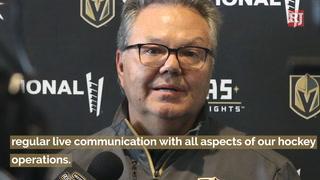 Golden Knights Kelly McCrimmon Talks NHL Draft – Video