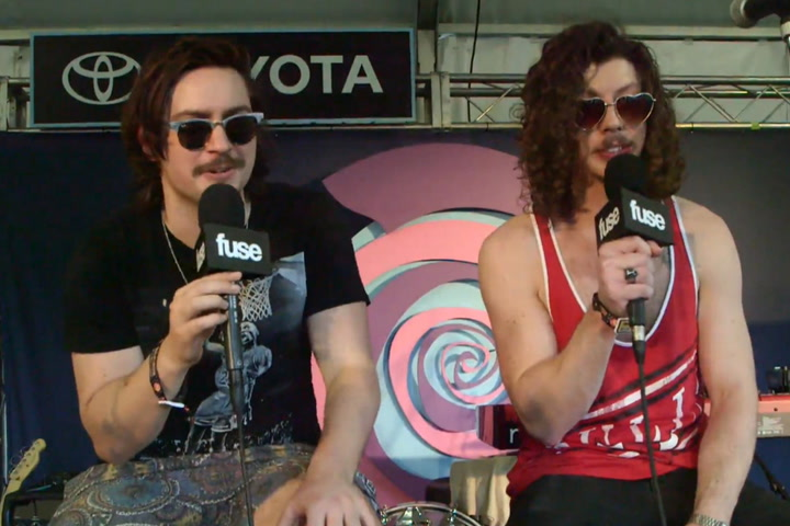Lollapalooza 2015: Peking Duk Talk Lollapalooza 2015 at Toyota Music Tent