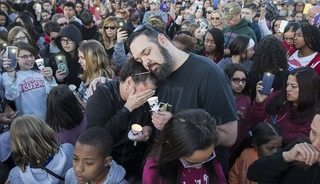 Las Vegas community pays tribute to boy killed by car