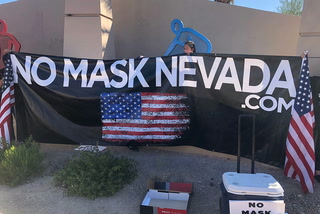 No Mask Nevada holds protest in southwest Las Vegas – Video