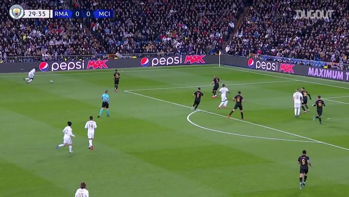 La victoria del Manchester City en la ida de octavos en el Santiago Bernabéu