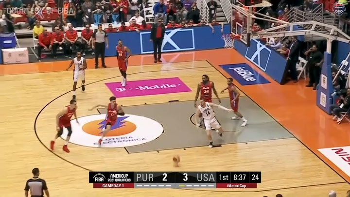 Americup Qualifying - USA Vs Puerto Rico Highlights