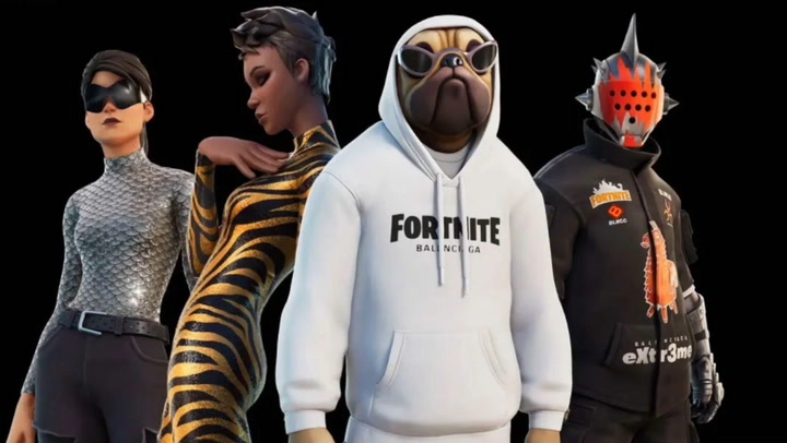 Fortnite teams up with Balenciaga to make real-world and in-game clothing