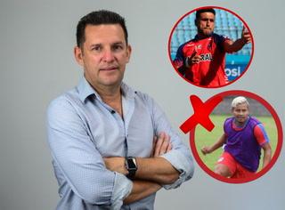 Director deportivo Javier Delgado responde a los rumores de fichaje de 'Patón' Mejía al Real España