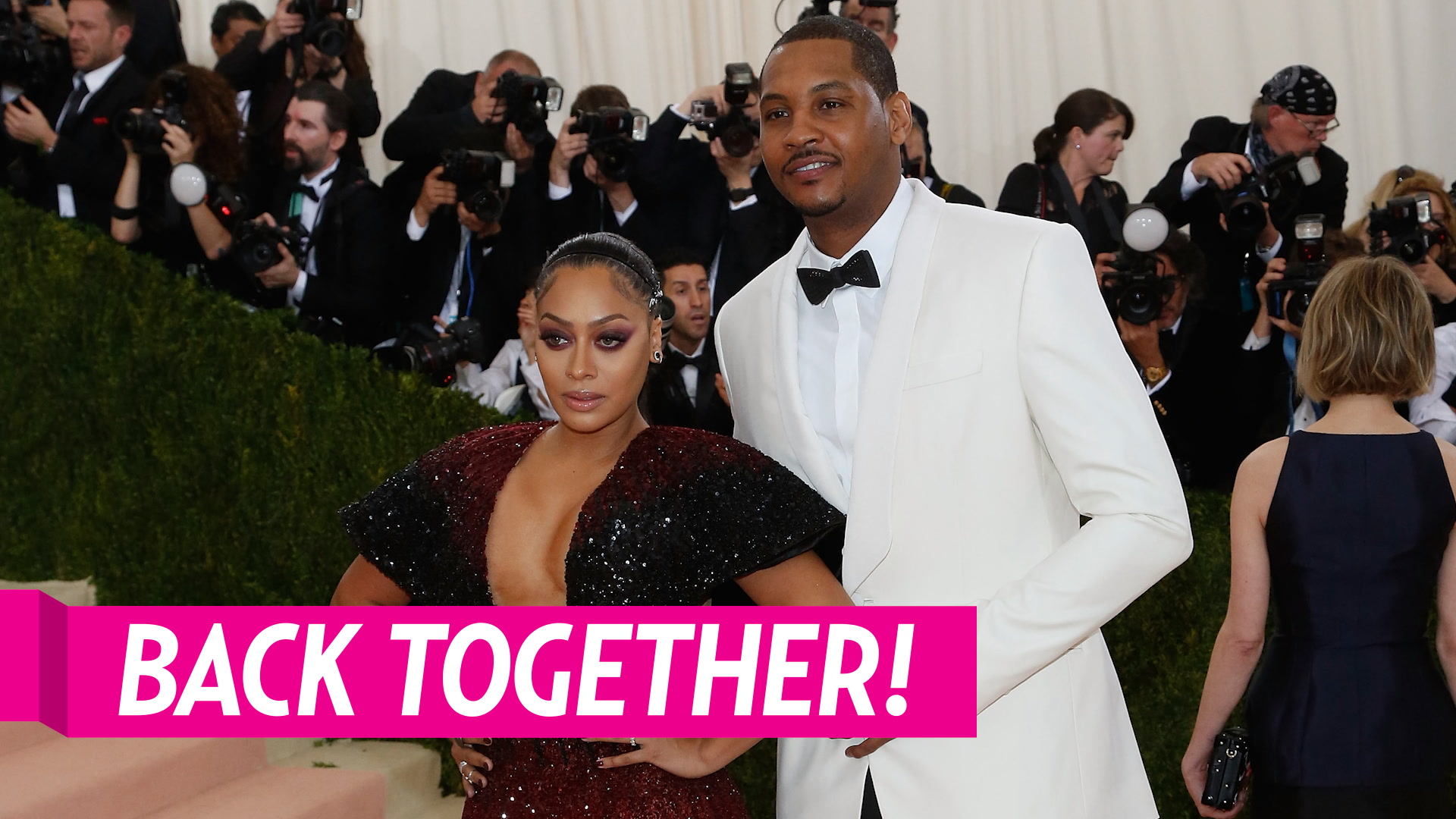 La La Anthony and Carmelo Anthony are Back Together