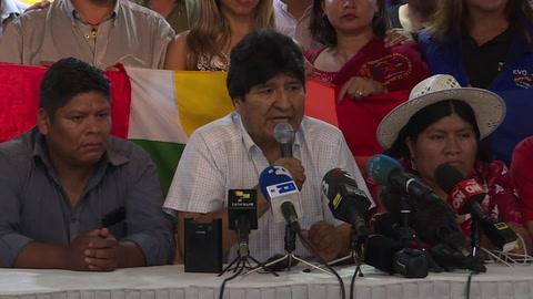Exministro Luis Arce será candidato a la presidencia de Bolivia, anuncia Evo Morales