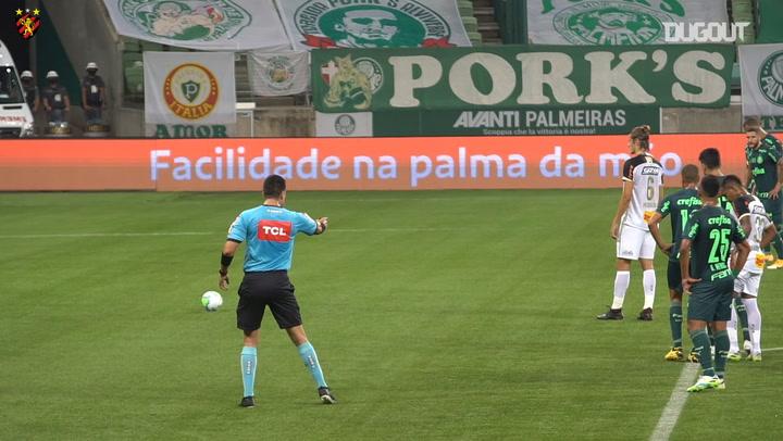 Sport Recife draw against Palmeiras