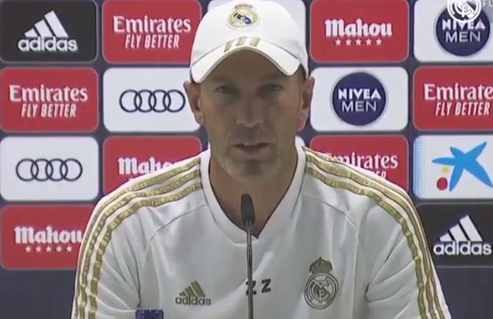 Zidane: ''San Mamés es siempre un campo complicado para todos los equipos. Estamos preparados para hacer un gran partido''