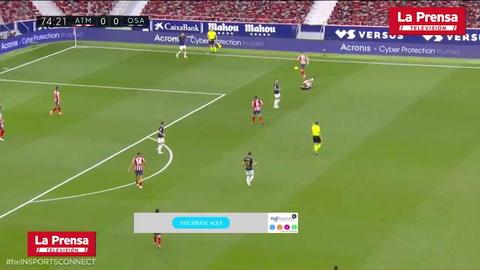 Atlético Madrid 2 - 1 Osasuna (liga Española)