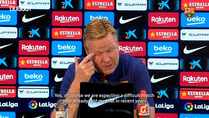 Koeman: 'I don't want to rotate players'