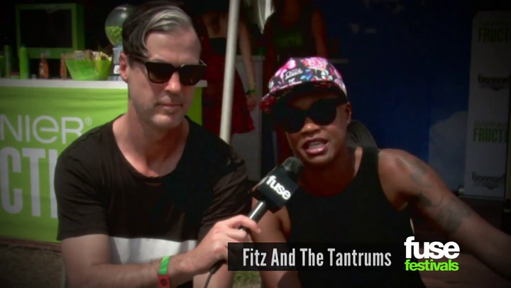 Fitz and the Tantrums at Bonnaroo 2014