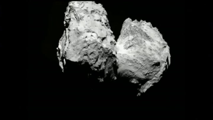 Video: Europa landt op komeet