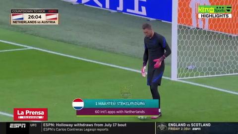 Holanda 2-0 Austria (EUROCOPA 2020)