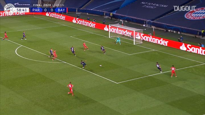 El gol de Coman que le dio la Champions League al Bayern