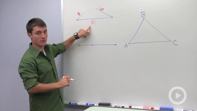 Triangle Side Inequalities
