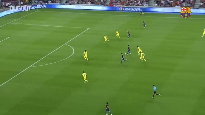 Best of Thiago Alcantara at FC Barcelona