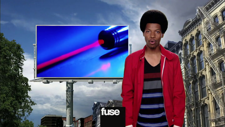 Shows: Off Beat: Laser Pointers Get You Noticed