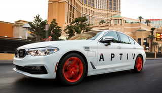 Aptiv Self-Driving Car