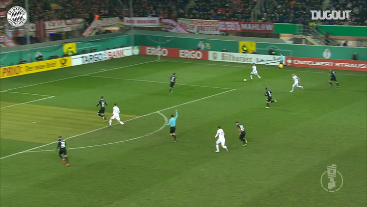 Arjen Robben's curling strike vs SC Paderborn