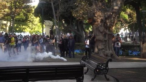 Disturbios y un polémico show de Mon Laferte en el festival de Viña del Mar