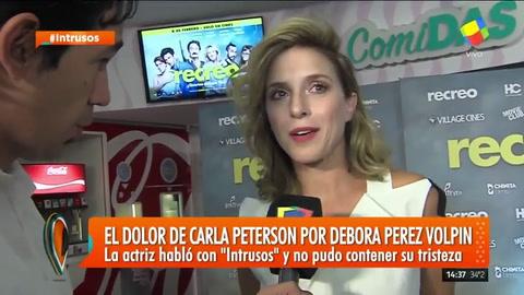 Carla Peterson se quebró al hablar de la pérdida de Débora Pérez Volpin