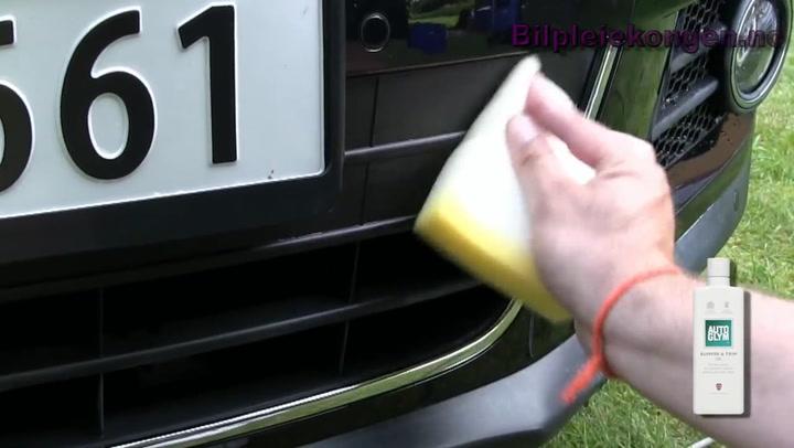 Bilpleie: Hvordan hente frem fargen i plastdetaljer