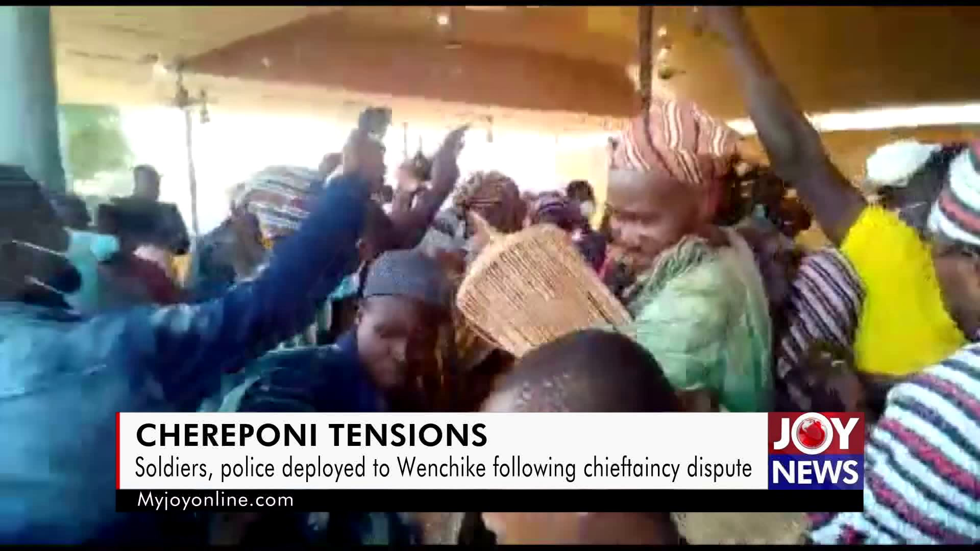 Uneasy calm in Wenchike follows controversial enskinment of chief -  MyJoyOnline.com