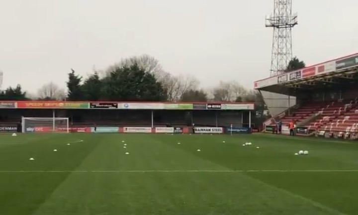 Así es el estadio Jonny-Rocks del Cheltenham Town