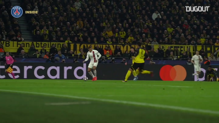 Paris Saint-Germain goals from Borussia Dortmund last 16 tie