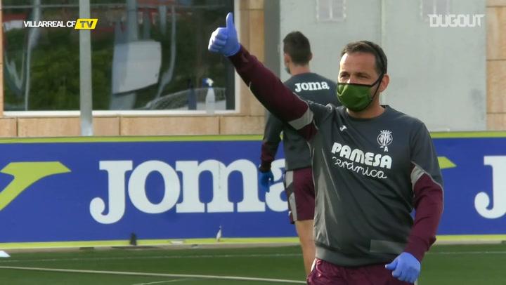 Villarreal CF return to training